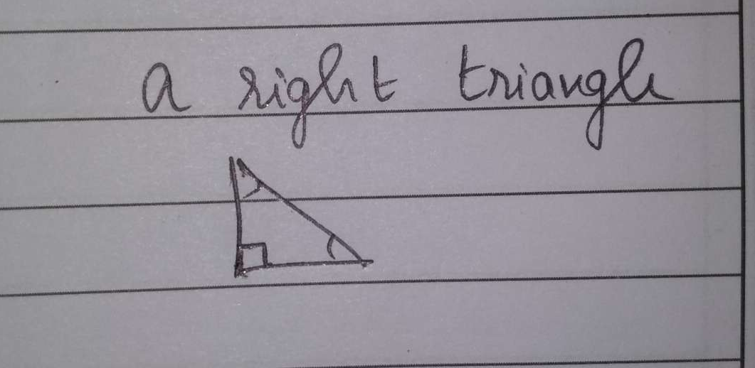 If one angle of a triangle is equal to the sum of the other two angles, then the triangle is