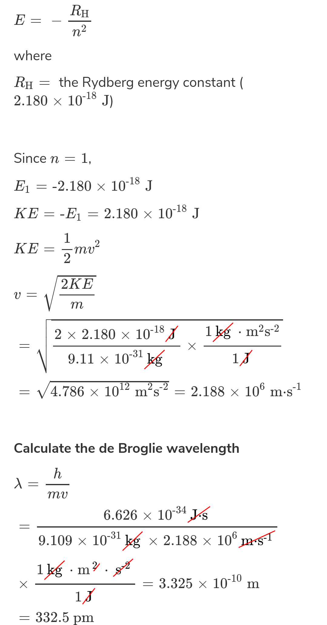 The de Broglie wavelength of electron of He+ ion is 3.329 Å. If the photon emitted upon de-excitation of this He+ ion is made to hit H-atom in its ground state so as to librate electron from it, what will be the de-Broglie's wave length of photoelectron